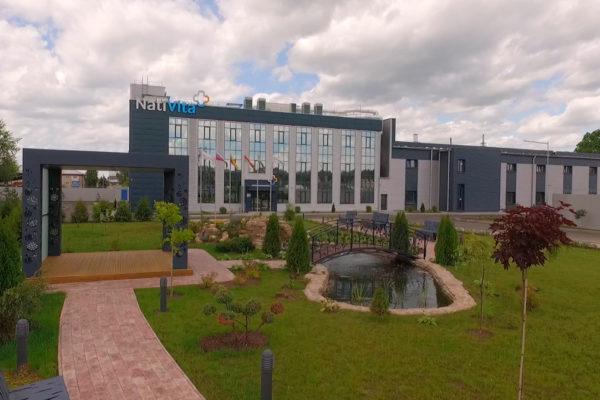 NatiVita factory outside view